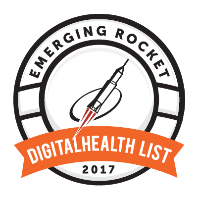 Conquer Mobile Selected to 2018 Emerging Rocket Digital Health List Logo